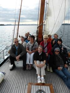 An Bord der Seewiefke, © Carola Habenicht