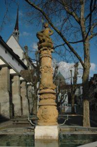 Froschauerbrunnen aus der Zeit um 1551, Zürich