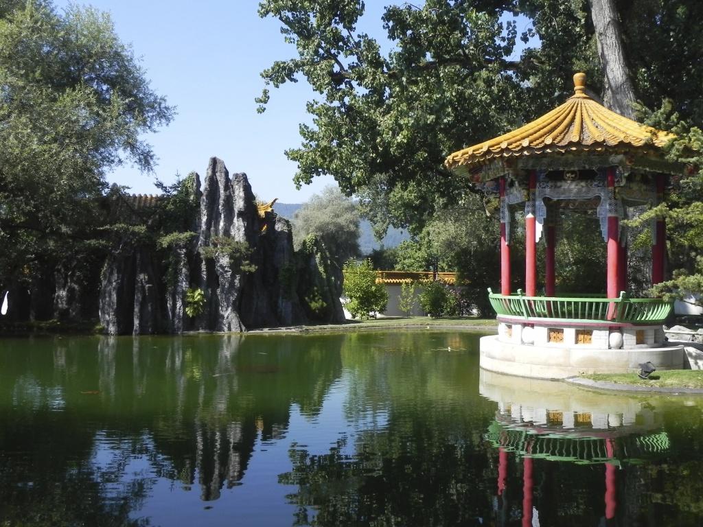 Pavillon im Chinagarten, © Stefan Ineichen