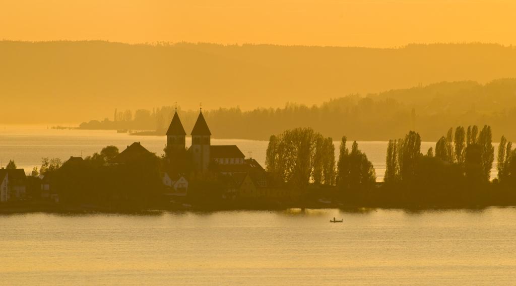 St. Peter und Paul-Kirche in Niederzell, © Thomas Birli