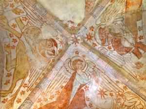 Der Stier des Lukas, der Engel des Mathäus und der geflügelte Markuslöwe