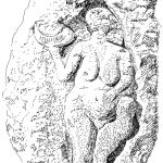 Venus von Laussel mit dem Mondhorn, © BHR
