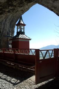 Eingang zum Wildkirchli, © BHR