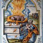 Biblisches Brandopfer