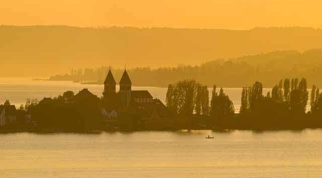 St. Peter und Paul-Kirche in Niederzell, Insel Reichenau, Foto © Thomas Birli