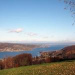 Blick von der Hochwacht Klingenzell auf den Untersee, © W. A. Völker