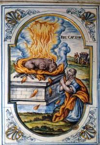 Brandopfer des Propheten Elias