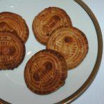 """Schafböcke, kleine ovale Lebkuchen, mit eingeprägtem """"Lamm Gottes"""", aus Einsiedeln"""